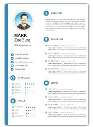 free creative resume templates word free resume templates doc modern resume templates exles free