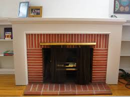 diy brick fireplace remodel u2014 farmhouses u0026 fireplacesfarmhouses