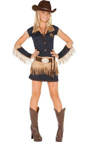 Cowboy Halloween Costume Teen Girls Quickdraw Cutie Cowgirl Costume Party