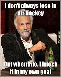 What Is Air Meme - air hockey meme by lonelystoned memedroid
