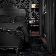 simple gothic black bedroom ideas blogdelibros
