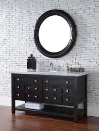 abstron 60 inch espresso single sink transitional bathroom vanity