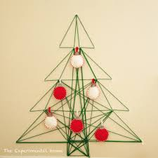 no room for a tree this year 6 ways to diy one on your wall
