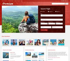 15 best travel fun web and mobile website template images on