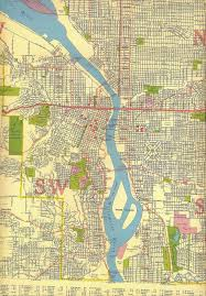 Portland Neighborhood Map Map Of Portland Oregon C 1940 Portland Oregon Pinterest