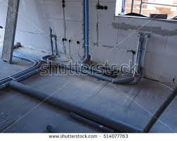 Plumbing A New House Sweat Boxes Stock Photo 34275388 Shutterstock
