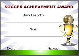 editable soccer award certificate templates free u0026 premium