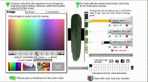 virtual colour mixing tool golden acrylic youtube
