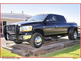 dodge ram mega cab dually for sale 2006 dodge ram 3500 slt mega cab 4x4 dually in brilliant black