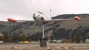 Airplane Weathervane Canadair Ct 133 Weathervane In Princeton Bc Canada Youtube