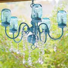 Create A Chandelier Jar Chandelier Use Jars To Create A Chandelier Lighted By Candles