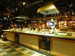cours de cuisine londres etage restaurant avec ilôt central pour cours de cuisine photo de