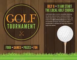 golf tournament flyer template powerpoint golf tournament flyer
