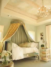 beautiful bedrooms daybed canopy and green walls