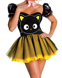sassy hello kitty chococat costume by rubies 880396 walmart com