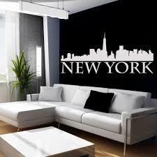 wallstickers folies new york wall stickers new york wall stickers