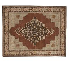 Kilim Rug Pottery Barn by Pottery Barn Misa Persian Style Wool Rug 5 X 8 New Authentic