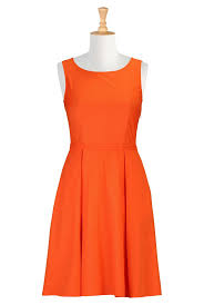 orange dress casual orange dress dress images