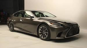 lexus most expensive sedan 2018 lexus ls has a livelier look and new twin turbo v6 youtube