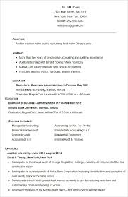 Resume Examples For Accounting by Accounting Resume 20 Image Gallery Of Ingenious Ideas For 12