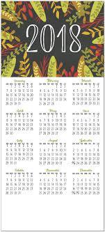 hello 2018 premium calendar card bulk calendar cards posty cards
