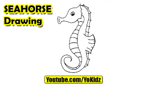 coloring page breathtaking drawing of seahorse maxresdefault
