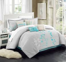 Turquoise And Brown Bedding Sets Grey Teal And Coral Bedding Tags Grey And Teal Bedding Mint