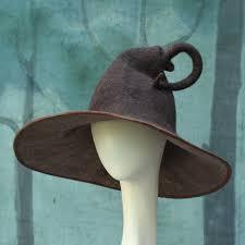 merlin wizard costume wizard hat brown wizard hat felt wizard hat wool wizard