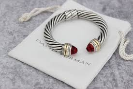 garnet bangle bracelet images David yurman 10mm hinged cable classics bracelet with garnet tips jpg