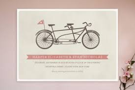 wedding invitation online wedding online invitation rectangle landscape beige bicycle images