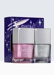 nails inc holler graphic nail polish duo kit nails inc us