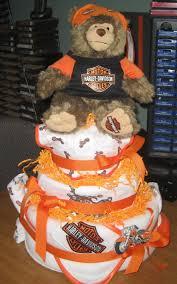 mn diaper cakes harley davidson 3 tier diaper cake sold