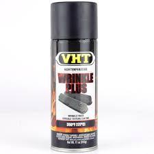 vht wrinkle finish paint black aerosol car builder solutions