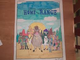 the total drama gang goes home on the range front by jared1994 on