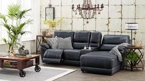 Macys Sleeper Sofa Alaina by Kalama 3 Seater Future Fabric Powered Recliner Lounge With Chaise