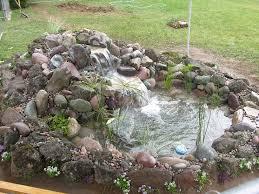 Backyard Pond Ideas Backyard Pond Ideas With Waterfall Trend With Picture Of Backyard