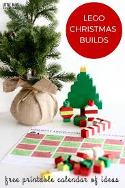 lego christmas building ideas calendar countdown for kids