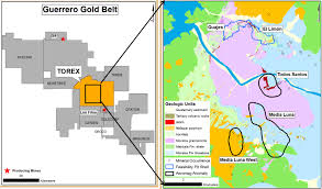 Guerrero Mexico Map by Success Continues For Torex At Media Luna Geology For Investors