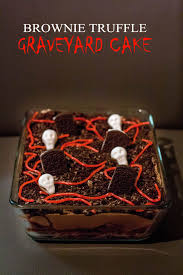 Halloween Cake Graveyard by Cake Archives Oh The Goodies