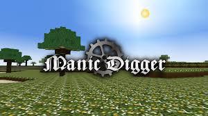 manic digger u2013 voxel block building game