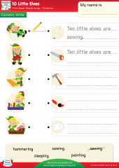 action verbs resource topic super simple