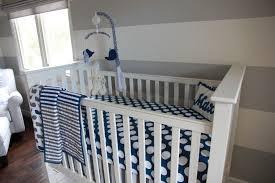 blue and gray whale themed nursery project nursery