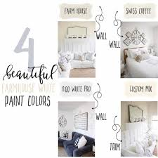 4 beautiful white farmhouse inspired paint colors u2014 the mountain