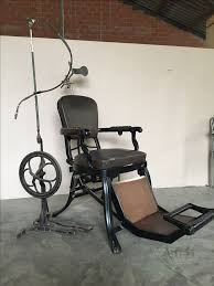 Dentist Chair For Sale Vintage Dentist Chair In Cast Iron With Drill Circa 1880 1900