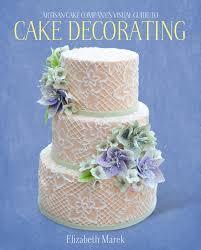artisan cake company u0027s visual guide to cake decorating on behance