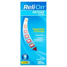 relion ketone test strips 50 ct walmart com