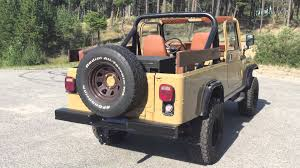 jeep scrambler custom 1982 cj8 jeep scrambler vm motori turbo diesel youtube