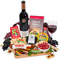 wine and cheese baskets unique gift baskets by gourmetgiftbaskets