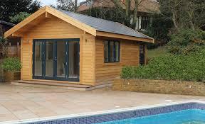 london pool house nordic wood