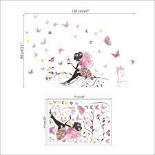 stickers pour chambre bébé fille superb deco mural chambre bebe 5 stickers chambre fille papillon